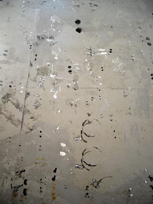 På golvet i ateljé 9